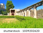 ancient roman columns from the... | Shutterstock . vector #1039202620