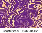 vector violet and gold marble... | Shutterstock .eps vector #1039206154