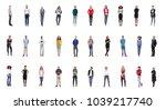 group of people team  | Shutterstock . vector #1039217740