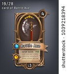 card of fantasy battle axe...
