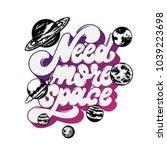 need more space. vector...   Shutterstock .eps vector #1039223698