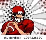 American Football Athlete....