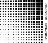 geometric shape halftone vector ... | Shutterstock .eps vector #1039228900