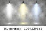 vector light sources  concert...   Shutterstock .eps vector #1039229863