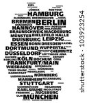 germany tag cloud of largest... | Shutterstock .eps vector #103923254