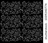 funny baby pattern. | Shutterstock .eps vector #1039240774