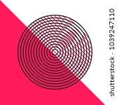 abstract vector minimalistic... | Shutterstock .eps vector #1039247110