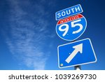 I 95 South Sign In Afternoon...
