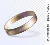 gold precious ring | Shutterstock .eps vector #1039271020