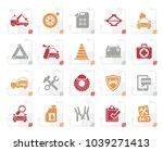 stylized roadside assistance... | Shutterstock .eps vector #1039271413