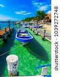isla mujeres. mexico  november...   Shutterstock . vector #1039272748