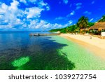 isla mujeres. mexico  november...   Shutterstock . vector #1039272754