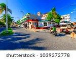 isla mujeres. mexico  november...   Shutterstock . vector #1039272778
