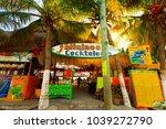 isla mujeres. mexico  november...   Shutterstock . vector #1039272790