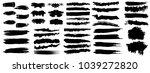 set of grunge banners.grunge... | Shutterstock .eps vector #1039272820