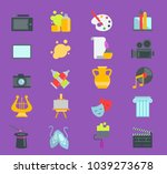 artistic creator graphic... | Shutterstock .eps vector #1039273678