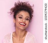 beauty portrait of young... | Shutterstock . vector #1039279420