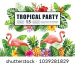Tropical Hawaiian Party...