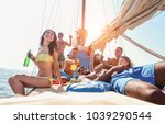 Happy Friends Making Boat Part...