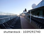 steamer   large cargo and... | Shutterstock . vector #1039292740