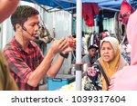papar  sabah  malaysia march 5  ... | Shutterstock . vector #1039317604