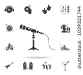 microphone stand icon. detailed ... | Shutterstock .eps vector #1039321744