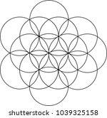 venn diagram pattern   Shutterstock .eps vector #1039325158