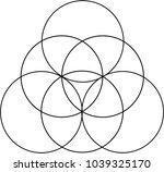 venn diagram pattern   Shutterstock .eps vector #1039325170