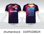 uniform football design. purple ...   Shutterstock .eps vector #1039328824