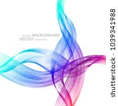 abstract background with... | Shutterstock .eps vector #1039341988
