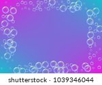 cleaning foam on gradient... | Shutterstock .eps vector #1039346044