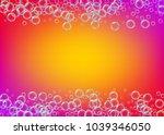 bath foam on gradient... | Shutterstock .eps vector #1039346050