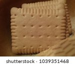 delicious crispy cakes | Shutterstock . vector #1039351468
