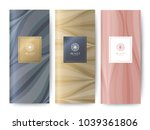 branding packaging nature... | Shutterstock .eps vector #1039361806