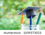education is the most powerful... | Shutterstock . vector #1039373023