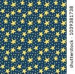 star background  pattern...   Shutterstock .eps vector #1039381738