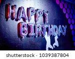 abstract  air  anniversary... | Shutterstock . vector #1039387804