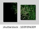 dark greenvector template for...