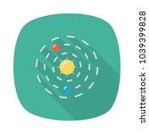 orbit astronomy space  | Shutterstock .eps vector #1039399828