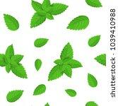 realistic detailed fresh green... | Shutterstock .eps vector #1039410988