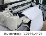 Continuous Paper Printer In The ...