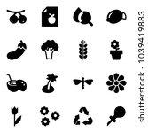 solid vector icon set  ...   Shutterstock .eps vector #1039419883