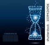 hourglass  sand clock  icon... | Shutterstock .eps vector #1039426906
