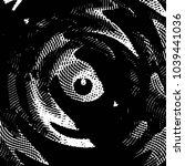 abstract grunge grid stripe... | Shutterstock .eps vector #1039441036