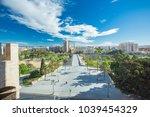 turia gardens park  valencia ... | Shutterstock . vector #1039454329