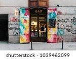 madrid  spain   november 3 ... | Shutterstock . vector #1039462099