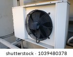 exterior air conditioning unit... | Shutterstock . vector #1039480378