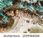 stunning wide angle aerial... | Shutterstock . vector #1039486000
