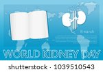 drawn vector kidney and the... | Shutterstock .eps vector #1039510543