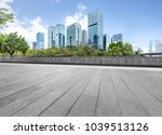panoramic skyline and buildings ... | Shutterstock . vector #1039513126